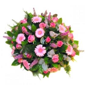 Rouwbiedermeier roze